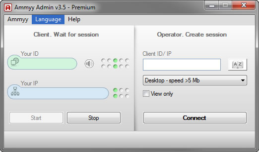 remote-client-interface